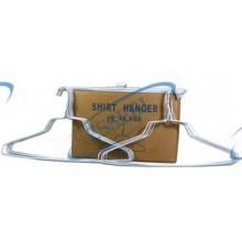 WHITE SHIRT HANGER 1.90 MM 500 PCS