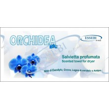 SCENTED TOWELS ORCHIDEA BLU FOR DRYER