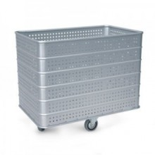 TROLLEY LIGHT ALLOY PERFORATED 1030X630X770