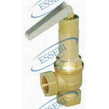 SAFETY VALVE EXHAUST LEVER TO PIPE 3/4