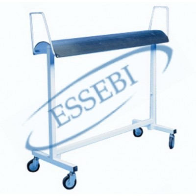 TROLLEY WITH BENT SHELF