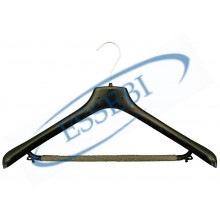 PLASTIC COAT-HANGER WITH TROUSER HANGER - 120 PCS