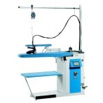 Professional ironing board and steam boilers